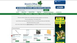 Brocks Office Furniture