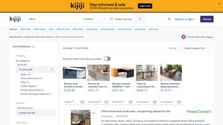 Kijiji Office Furniture